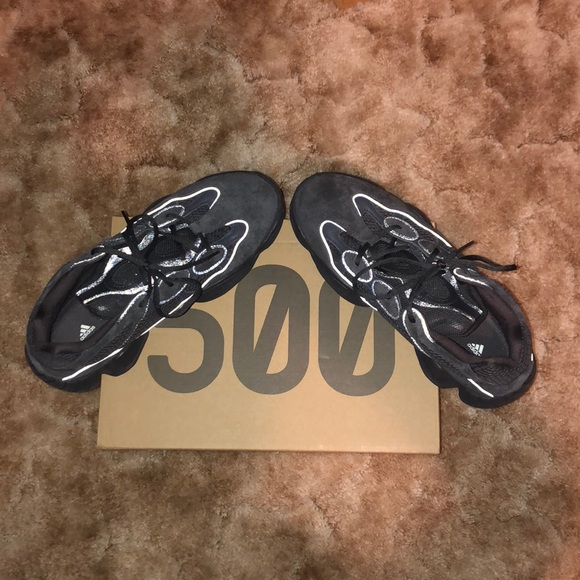 buy popular 915ef 354f3 adidas Yeezy 500 Utility Black